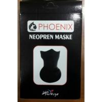 Prc Maske Uzun-Neopren Phoenıx Siyah