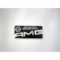 Boostzone Mercedes Amg Bagaj Logosu Siyah