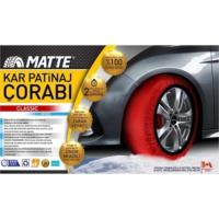 Boostzone Matte Kar Çorabı Classic Series Medium
