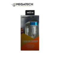 Megatech Mtc24 2.4A 2Usb Araç Şarj & İp6 Kablo