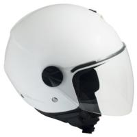 CGM Florence Beyaz Açık Motosiklet Kaskı Uzun Vizör 107A-FLA-14A XSmall