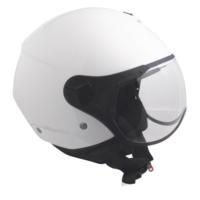 CGM Florence Beyaz Açık Motosiklet Kaskı Kısa Vizör 107A-FSA-14A XSmall