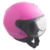 CGM Florence Pembe Açık Motosiklet Kaskı Kısa Vizör 107A-FSA-71A Xsmall