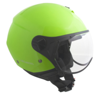 CGM Florence Yeşil Açık Motosiklet Kaskı Kısa Vizör 107A-FSA-89B Small