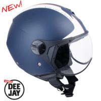 CGM Deejay Mavi Açık Motosiklet Kaskı Kısa Vizör 107DJ11-FSA-06C Medium
