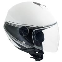 CGM Rome Beyaz Açık Motosiklet Kaskı Kısa Vizör 107G-FSA-14B Small