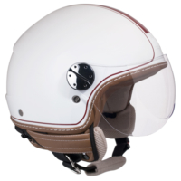 CGM Santa Monica Beyaz Açık Motosiklet Kaskı Kısa Vizör 109V-DSA-14A XSmall