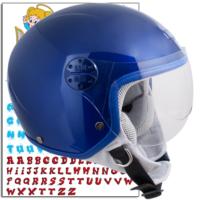 CGM Çocuk Motosiklet Kaskı Goodevil Mavi 205S-FSA-79B Young Small