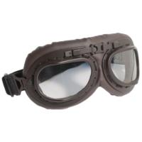 CGM Goggles Gözlük Vintage Şeffaf Cam Motosiklet Gözlük 704V-A01-13A