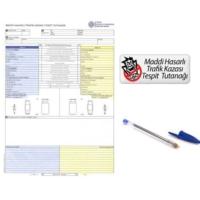 Modacar 6'lı Paket Trafik Kaza Tespit Tutanağı Kalemli 570072