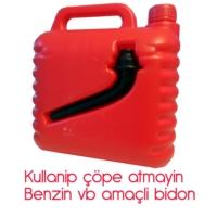 Modacar 6'lı Paket Dpx Benzin Bidonu 5 Litre 99M0163