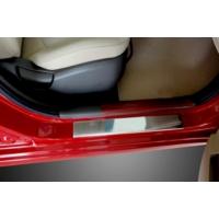 Spider Hyundai Accent Blue Rb Kapı Eşiği 4 Parça Paslanmaz Çelik Solaris 2011 Üzeri Modeller