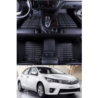 ModaCar 5 Boyutlu Toyota Corolla 2016 >> ExclusivE Paspas Seti 105179