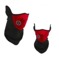 ModaCar Motorsiklet Yazlık Neopren Yarım Kırmızı Yüz Maskesi 105096