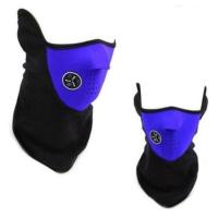 ModaCar Motorsiklet Yazlık Neopren Yarım Mavi Yüz Maskesi 105097