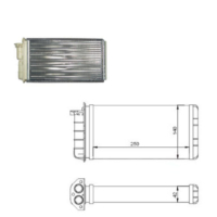 Gva Kalorıfer Radyatoru Bravo (95-01)Brava (95-01)Marea (96-02) (250X