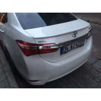 Boostzone Toyota Yeni Corolla Plastik Spoiler Ty061