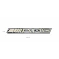 Süslenoto Paslanmaz Metal Yazı Amg 20Cmx2Cm