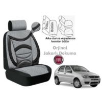 Süslenoto Fiat Palio Hb 2002-2012 Füme Oto Koltuk Kılıfı Ortopedik