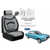 Süslenoto Ford Taunus Sedan 1980-1994 Füme Oto Koltuk Kılıfı Ortopedik