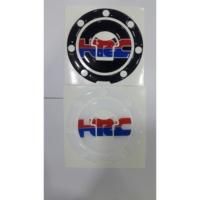 Prc Depo Kapak Stikeri (Pad) Hrc Siyah / Şeffaf