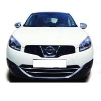 Z tech Nissan Qashqai 2007-2013 Krom Ön Tampon Çıtası 2 Parça