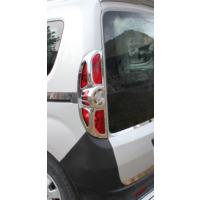 Z Tech Fiat Doblo 2010 Sonrası Abs Krom Stop Çerçevesi 2 Parça