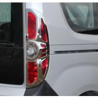 Z Tech Opel Combo 2012 Sonrası Abs Krom Stop Çerçevesi 2 Parça