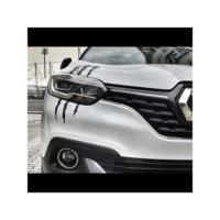 Otografik - Far İçin Monster Pençe Stıcker 22X30Cm Siyah