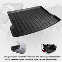 Z Tech Ford Focus 3 Sedan 2011-2014 (İnce Stepne) Ekolojik 3D Bagaj Havuzu