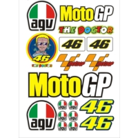 Stickermarket Moto GP Sticker Seti
