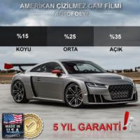 Oto Cam Filmi Amerikan Çizilmez Koyu Ton