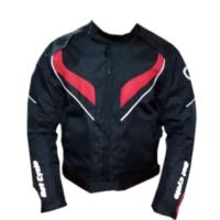 Dot Cycle Su ve Rüzgar Geçirmez Full Korumalı Kırmızı/Siyah Motosiklet Montu