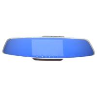 Novatek 5 inç IPS Ekran NT82HD Çift Yön Dikiz Ayna Geri Vites Türkçe Menü 12 MP Full HD 1080P 170/170 Derece Geniş Açı Lens Gece Görüşlü DVR Gold Metal Kasa Araç İçi Kamera
