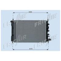 Orıs Mfr003 Motor Radyatoru (525X365X42) Escort Manuel