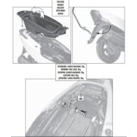 Gıvı Sr6101 Kymco G-Dınk 125-300 (12-16) Arka Çanta Taşıyıcı