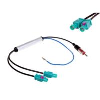 Nxt Vw Çiftli Anten Dönüştürücü Güçlendirici Aparat Elektronik Çiftli Anten