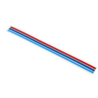 Bmw Akpınar Ön Panjur Şeridi M Çizgisi 3 Renk Panjur Sticker Arma Bmw Şerit