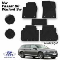 İmage VW Passat B8 Wariant SW Paspas Siyah