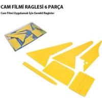 Carub Cam Filmi Çekme Ragle Seti 6 Parça