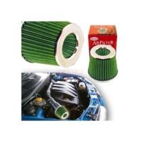 Carub Hava Filtresi Tuning 2 Aparatlı Krom Yeşil