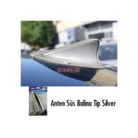 Carub Anten Süs Balina Tip Silver