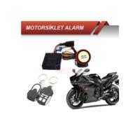 Motorsiklet Alarmı Kumandalı Kapaklı Krom