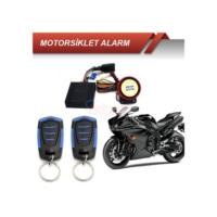 Motorsiklet Alarmı Kumandalı Siyah Mavi
