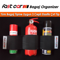 Fast Car Bagaj Organizer 3 Cepli Dağınıklık Toplar