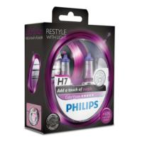 Philips H7 Tip Color Vision Purple Far Ampül Seti 106203