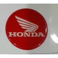 Damla Etiket Honda Kırmızı D4
