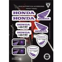 Vexo X21 Honda Stıcker Set Mavi