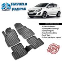 Opel Corsa D 3D Havuzlu Paspas A+Plus