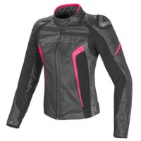 Dainese Racing D1 Pelle Kadın Pembe Ceket